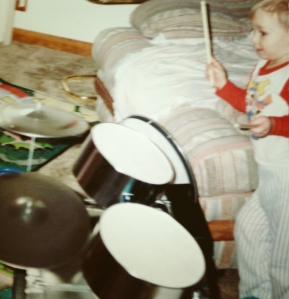 Caleb's 1st drumset